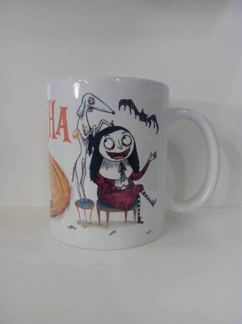 """Чаша """"Скръбен прави прическа на Мортина"""""""