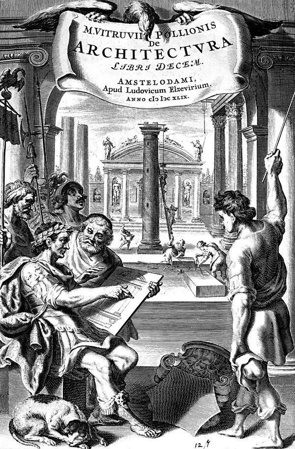Витрувий и неговата вселена