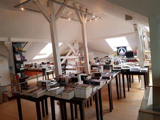 Книжарницата на КИБЕА се мести през есента